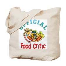 Official Food Critic Tote Bag