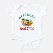 Official Food Critic Infant Bodysuit
