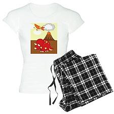 Dinosaur Kindle Pajamas