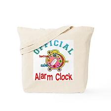 Official Alarm Clock Tote Bag