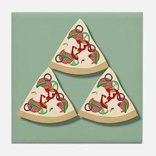 Pizza Triforce Tile Coaster