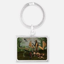 The Family - A Knight Meets The Landscape Keychain