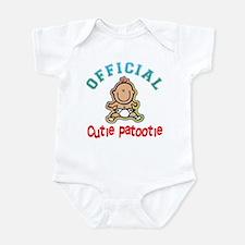Official Cutie Patootie Infant Bodysuit