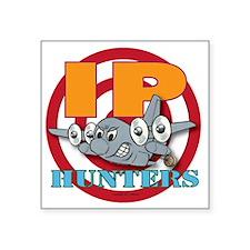 """Mil 7 C130 IP Hunters copy Square Sticker 3"""" x 3"""""""