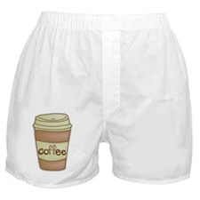 Coffe Lovers Coffee Cup Boxer Shorts
