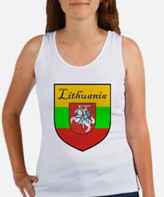 Lithuania Flag Crest Shield Women's Tank Top