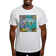 Retro Martini T-Shirt
