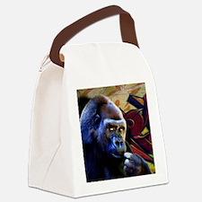 Mousepad-Gorilla-TriPodDogDesign Canvas Lunch Bag