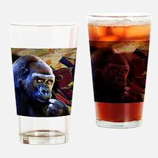 Mousepad-Gorilla-TriPodDogDesign Drinking Glass