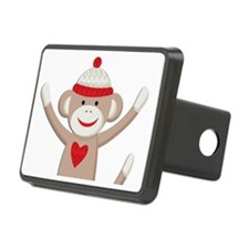Sock Monkey Hitch Cover