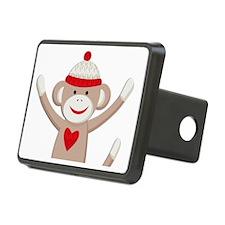 Sock Monkey Rectangular Hitch Cover