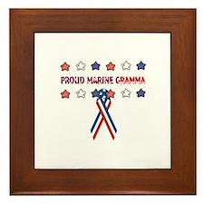 Proud Marine Gramma Framed Tile