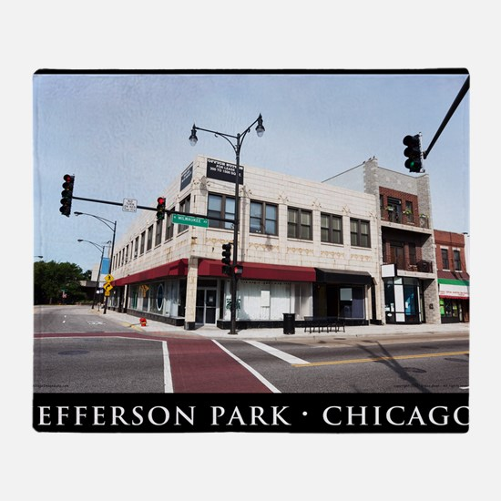 03Jul11_Jefferson Park_001-POSTER Throw Blanket