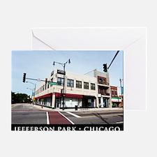 03Jul11_Jefferson Park_001-POSTER Greeting Card