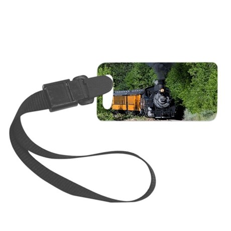 11x17 Around the Bend Small Luggage Tag