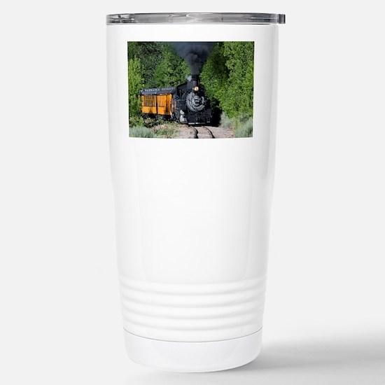 11x17 Around the Bend Stainless Steel Travel Mug