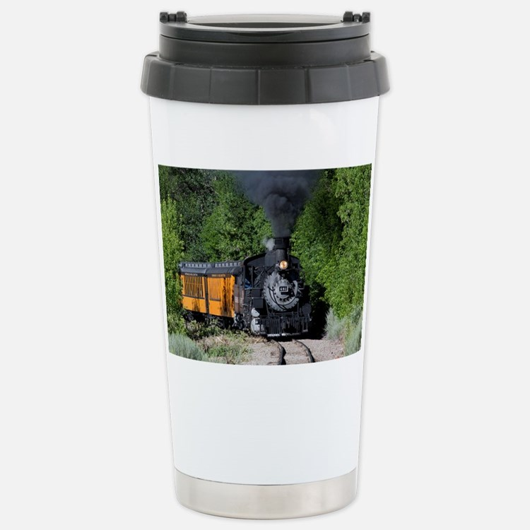 11x17 Around the Bend Stainless Steel Travel Mug