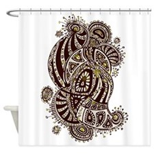 Two Birds Shower Curtain