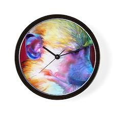 Mousepad-Corey-TriPodDogDesign Wall Clock