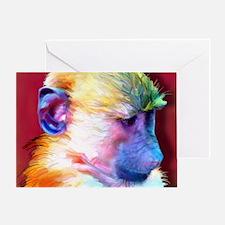 Mousepad-Corey-TriPodDogDesign Greeting Card