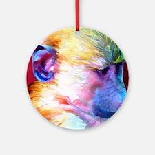 Mousepad-Corey-TriPodDogDesign Round Ornament