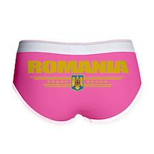Romania (Flag 10) pocket Women's Boy Brief