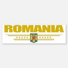Romania (Flag 10) pocket Bumper Bumper Sticker