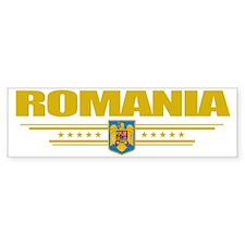 Romania (Flag 10) pocket Bumper Sticker