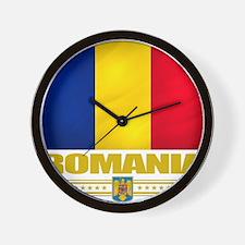 Romania (Flag 10) Wall Clock