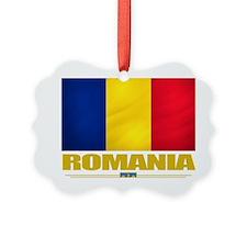 Romania (Flag 10) Ornament
