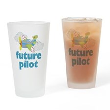 future pilot Drinking Glass