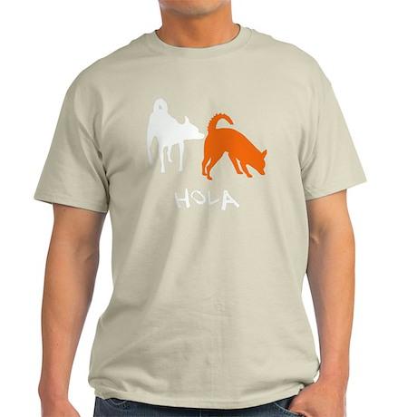 Hola_dogs_wht Light T-Shirt