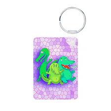 Alligator poem Keychains