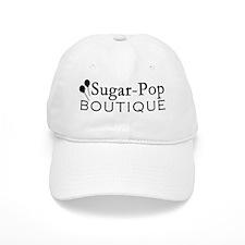 10x10_field_bag_sugar_pop_logo_black Baseball Cap
