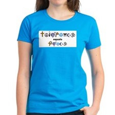 Tolerance = Peace  Tee