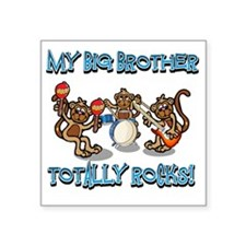 "bigbrother Square Sticker 3"" x 3"""