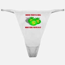 INHERIT MONEY Classic Thong