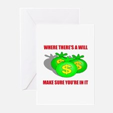 INHERIT MONEY Greeting Cards (Pk of 10)