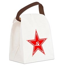 hammer and sickle Canvas Lunch Bag