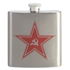 hammer and sickle Flask