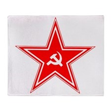 hammer and sickle Throw Blanket