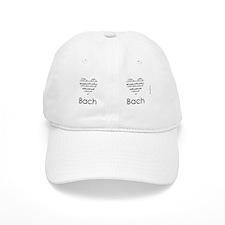 Bach mug Baseball Cap