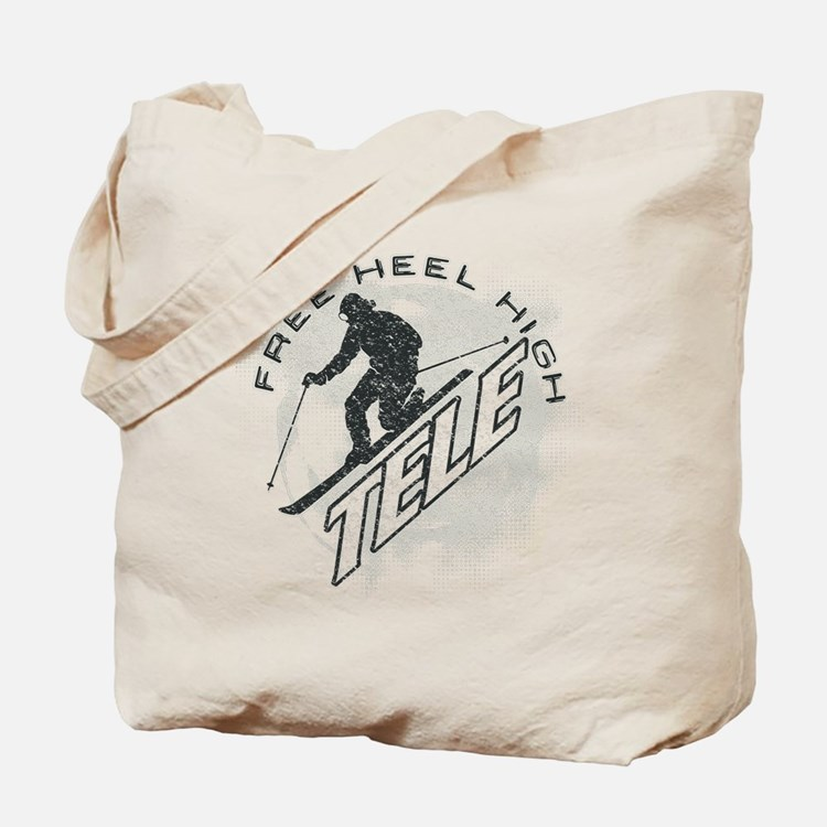 free heel high revise Tote Bag