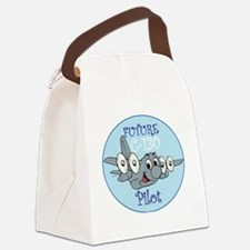 Mil 3 C130 baby pilot M  Canvas Lunch Bag