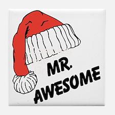 Mr. Awesome Tile Coaster