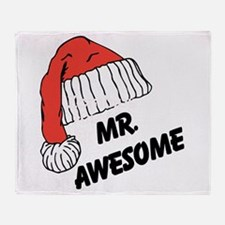 Mr. Awesome Throw Blanket