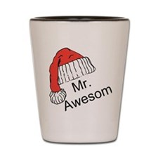 Mr. Awesome Shot Glass