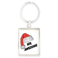 Mr. Awesome Keychains