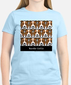 Red Merle Border Collies T-Shirt