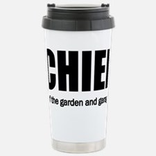 chief Stainless Steel Travel Mug